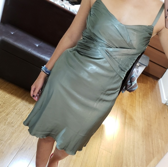 Dresses & Skirts - Army Green dress, S